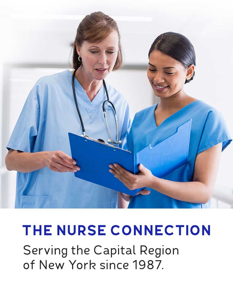 The Nurse Connection: Serving the Capital Region of New York since 1987.