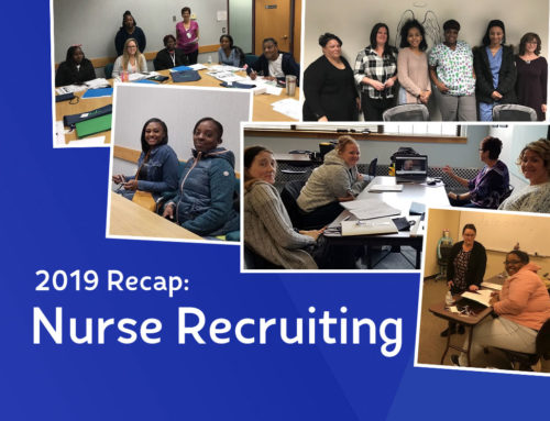 2019 Nurse Recruiting Recap [Winter/Spring 2020 Newsletter]